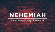 Leader Lessons From Nehemiah